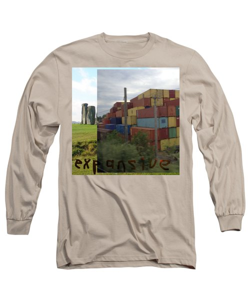 Expansive  Long Sleeve T-Shirt