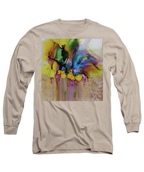 Explosion Of Petals Long Sleeve T-Shirt