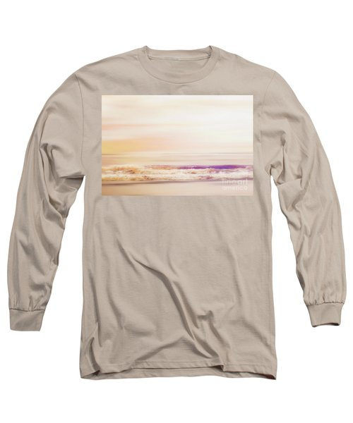 Expression - Dreams On The Shore Long Sleeve T-Shirt by Janie Johnson