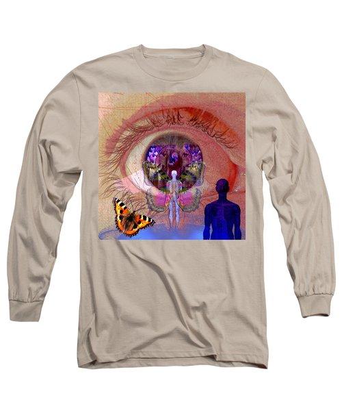 Eye Solar Long Sleeve T-Shirt by Joseph Mosley