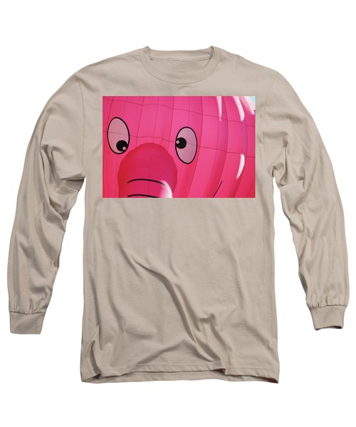 Long Sleeve T-Shirt featuring the photograph Eyes On You by Marie Leslie