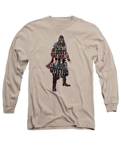 Ezio Auditore Da Firenze Long Sleeve T-Shirt by Ayse Deniz