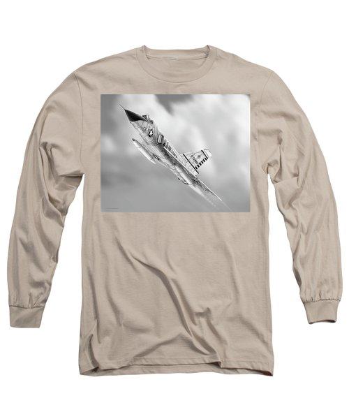 F-106a Drawing Long Sleeve T-Shirt