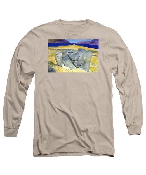 Faces Of The Rocks Long Sleeve T-Shirt