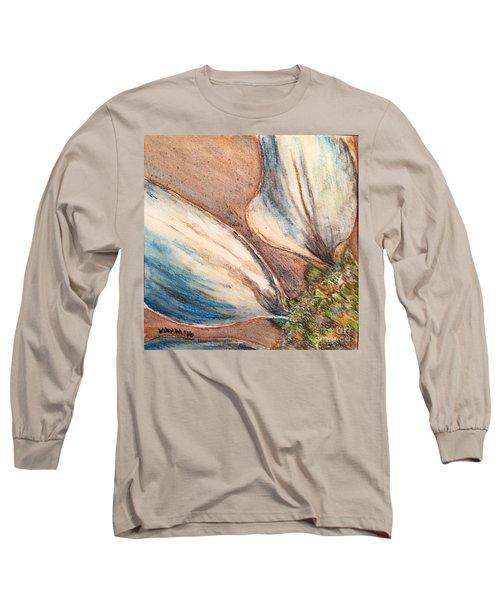 Faded Glory  Long Sleeve T-Shirt by Vonda Lawson-Rosa