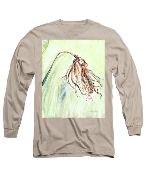 Faded Long Sleeve T-Shirt by Nadine Dennis