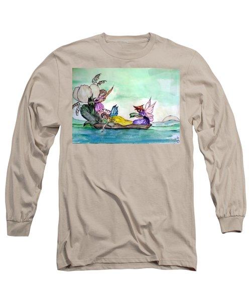 Fairies At Sea Long Sleeve T-Shirt