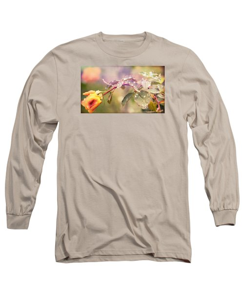 Fairy Drops Long Sleeve T-Shirt by Cathy Donohoue