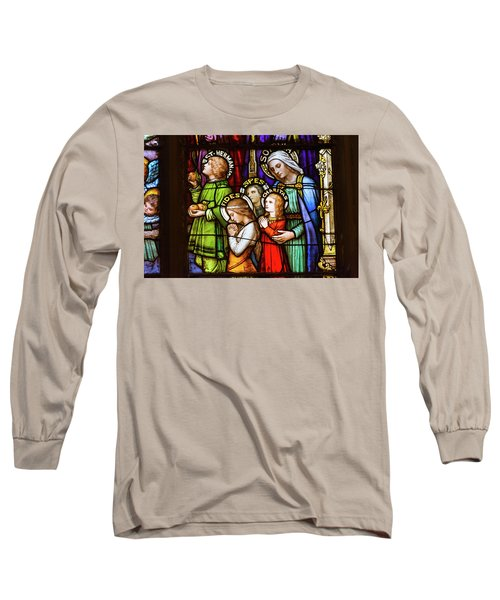 Faith, Hope, And Charity Long Sleeve T-Shirt