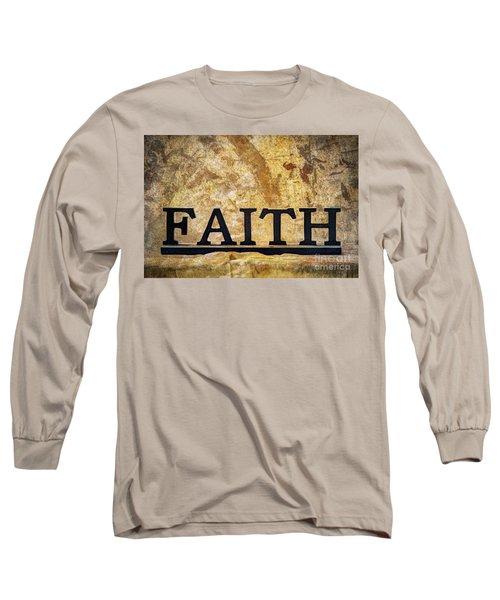 Long Sleeve T-Shirt featuring the photograph Faith by Randy Steele