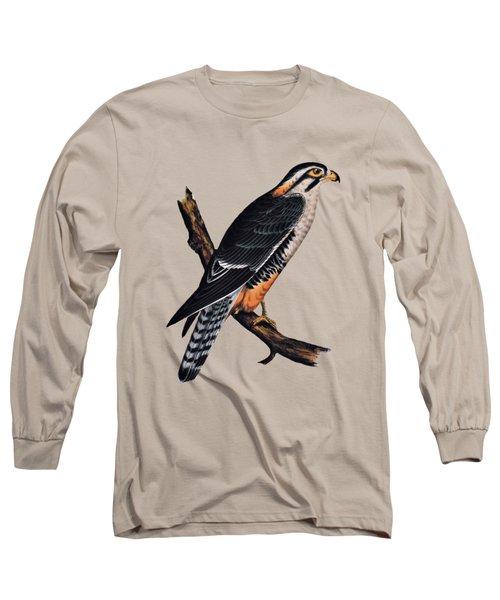 Falcon Aplomado Falcon Long Sleeve T-Shirt