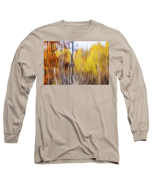 Long Sleeve T-Shirt featuring the photograph Fall Abstract by Mircea Costina Photography