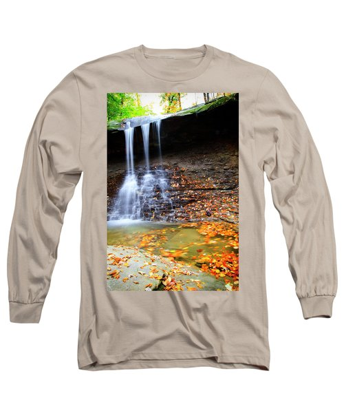 Fall At Blue Hen Falls Long Sleeve T-Shirt