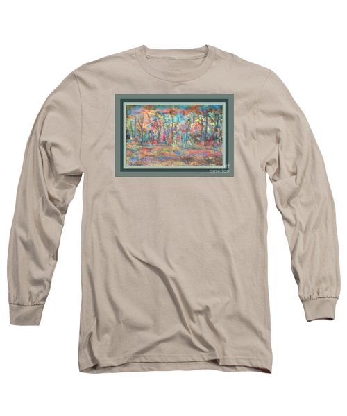 Long Sleeve T-Shirt featuring the photograph Fall Color Riot by Shirley Moravec