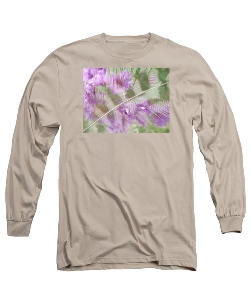 Fall Feather Long Sleeve T-Shirt by Tim Good