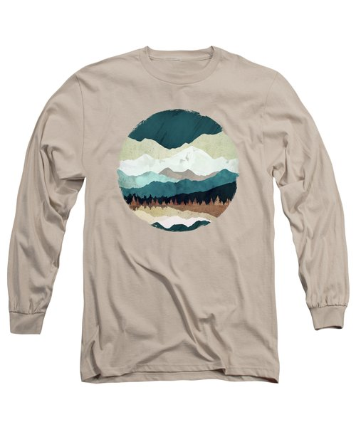 Fall Forest Night Long Sleeve T-Shirt