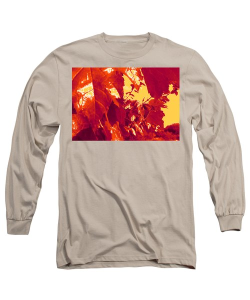Fall Leaves #13 Long Sleeve T-Shirt