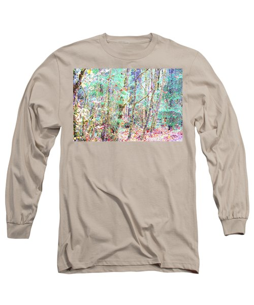 Fall Oregon Forest Long Sleeve T-Shirt