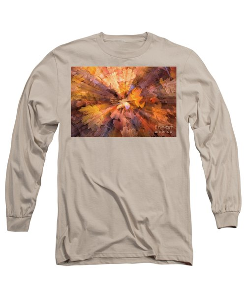 Fall Pizzaz Utah Adventure Landscape Photography By Kaylyn Franks Long Sleeve T-Shirt