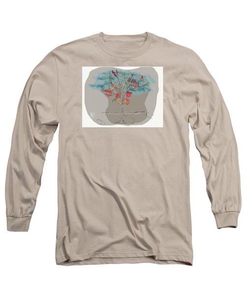 Fall To Peaces Long Sleeve T-Shirt by Jason Nicholas