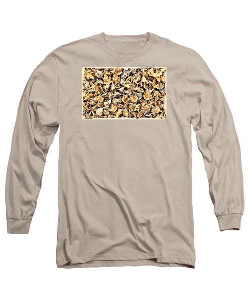 Fallen Autumn Leaves Long Sleeve T-Shirt