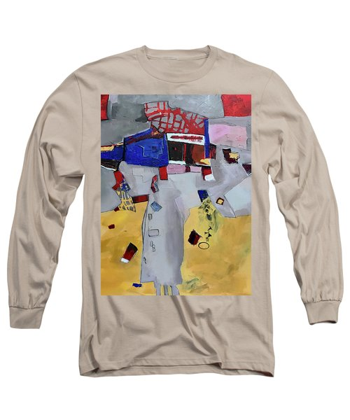 Falling City Long Sleeve T-Shirt