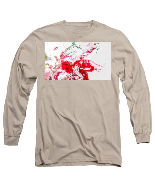 Falling In Love - Abstract Painting Long Sleeve T-Shirt