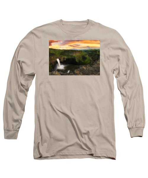 Falling Long Sleeve T-Shirt by Ryan Manuel