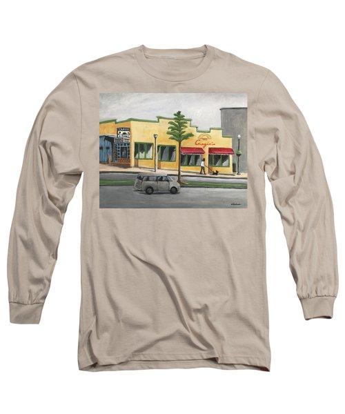Falls Church Long Sleeve T-Shirt by Victoria Lakes
