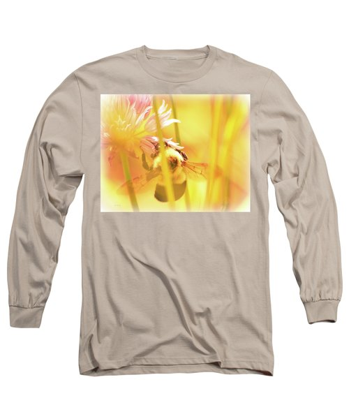 Fame Is A Bee Long Sleeve T-Shirt by Bob Orsillo