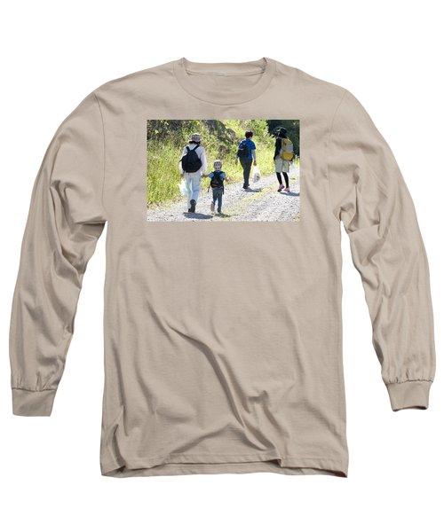 Family Walk Long Sleeve T-Shirt