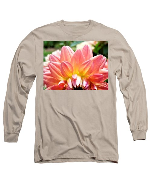 Fanned Out Petals Long Sleeve T-Shirt