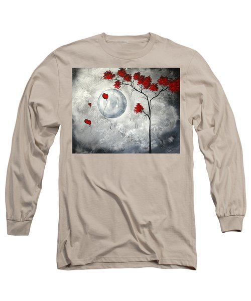 Far Side Of The Moon By Madart Long Sleeve T-Shirt