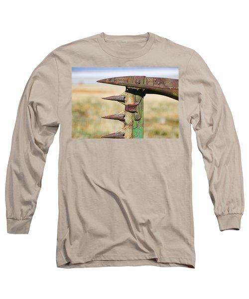 Long Sleeve T-Shirt featuring the photograph Farm Equipment 1 by Ely Arsha