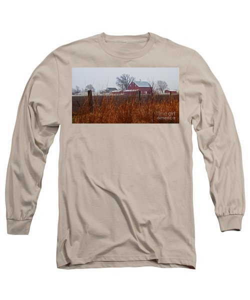 Farm House Long Sleeve T-Shirt