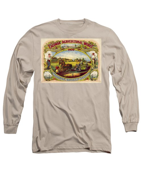 Farm Tools Ad 1859 Long Sleeve T-Shirt