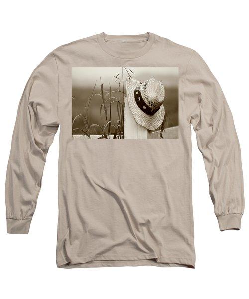 Farmers Hat Long Sleeve T-Shirt