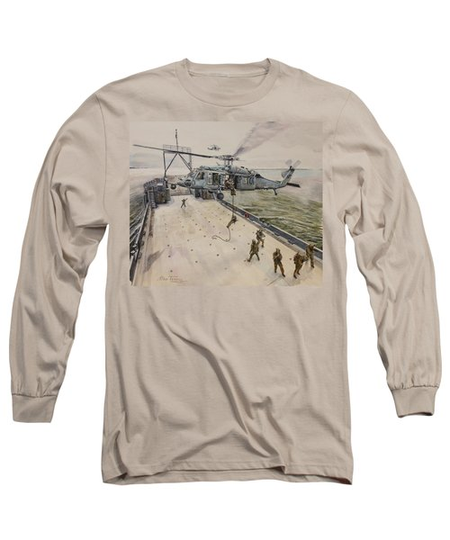 Fast Rope Long Sleeve T-Shirt by Stan Tenney
