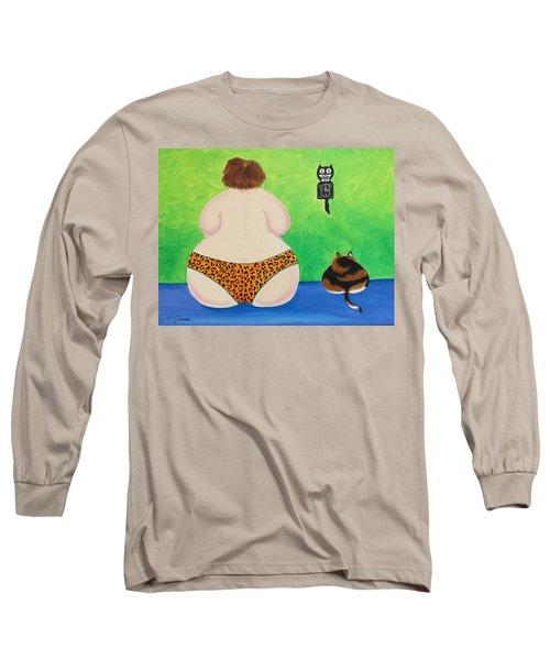 Fat Cats Long Sleeve T-Shirt