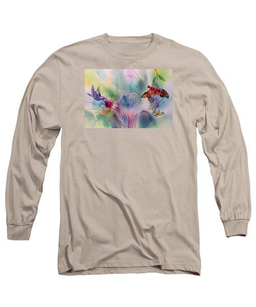 Favorite Things Long Sleeve T-Shirt by Tara Moorman