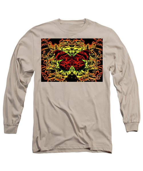 Fear Of The Red Admirals Long Sleeve T-Shirt