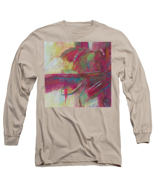 Feathering Long Sleeve T-Shirt by Susan Woodward