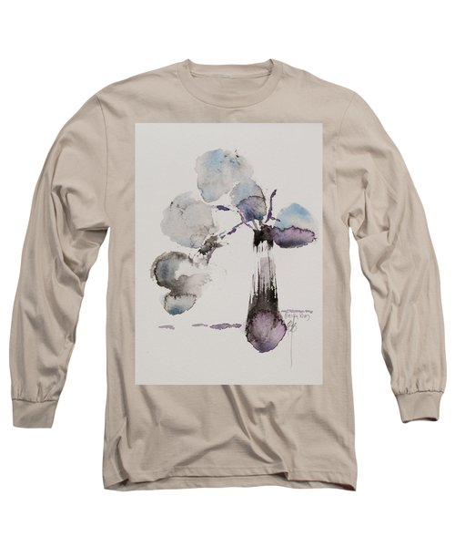 February Long Sleeve T-Shirt by Becky Kim