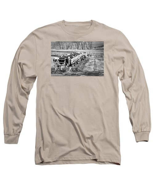 Feedlot Long Sleeve T-Shirt by Dan Traun