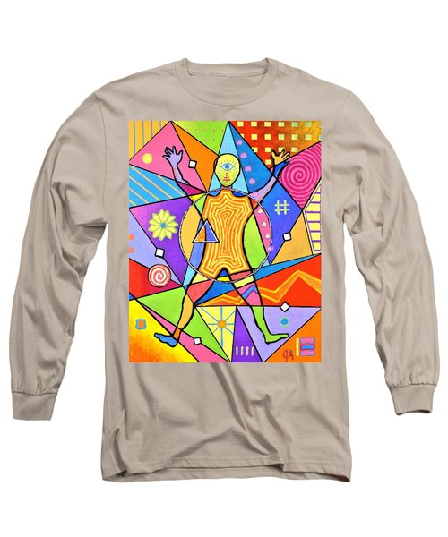 Feel The Vibes Long Sleeve T-Shirt by Jeremy Aiyadurai