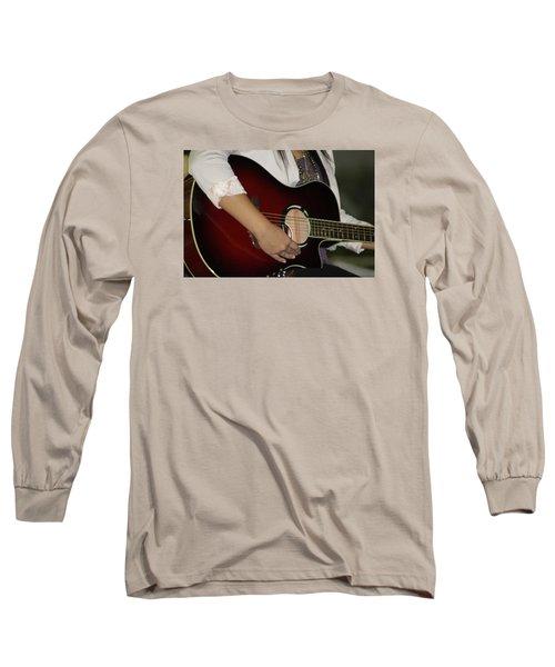 Female Guitarist Long Sleeve T-Shirt