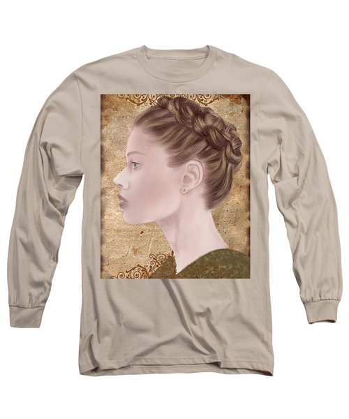 Femme Fatale Long Sleeve T-Shirt by Terry Honstead