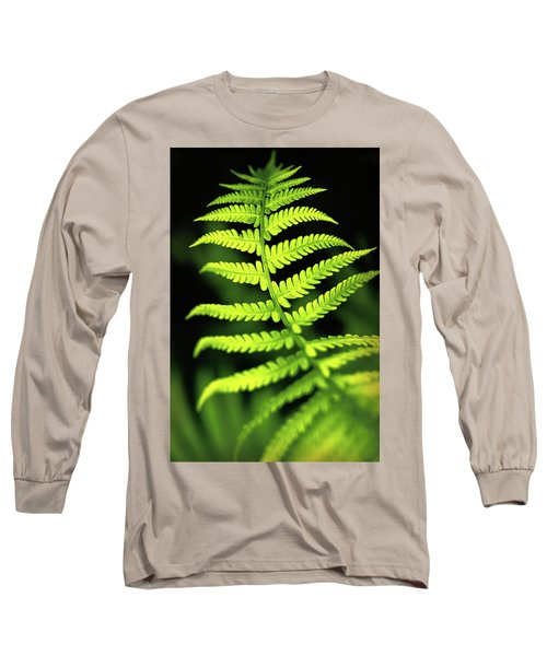 Fern Leaf Long Sleeve T-Shirt