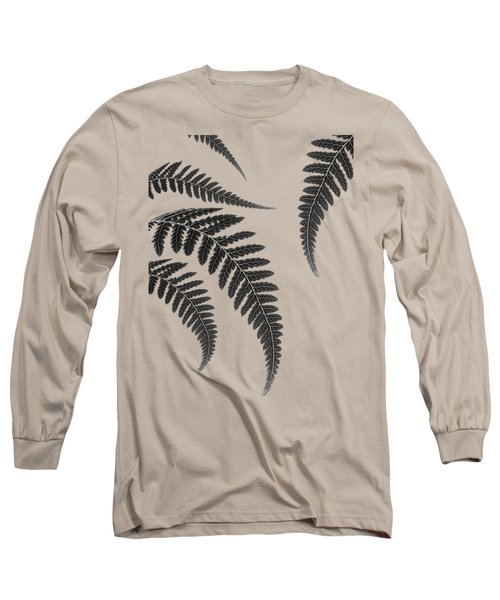 Fern Leaves Long Sleeve T-Shirt