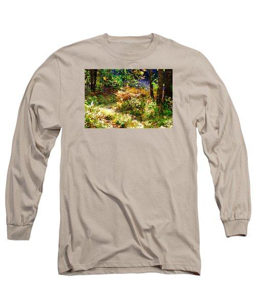 Ferns Long Sleeve T-Shirt by Susan Crossman Buscho